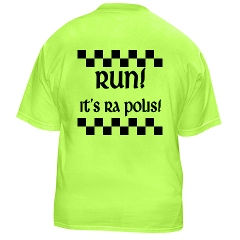 Shirt with Run its ra Polis